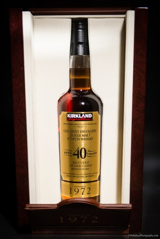 Kirkland Glenlivet 40 Year Single Malt Scotch bottled by Alexander Murray and Co